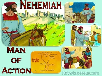 Nehemiah, Man of Action (devotional) (red) - 2 Corinthians 10:4